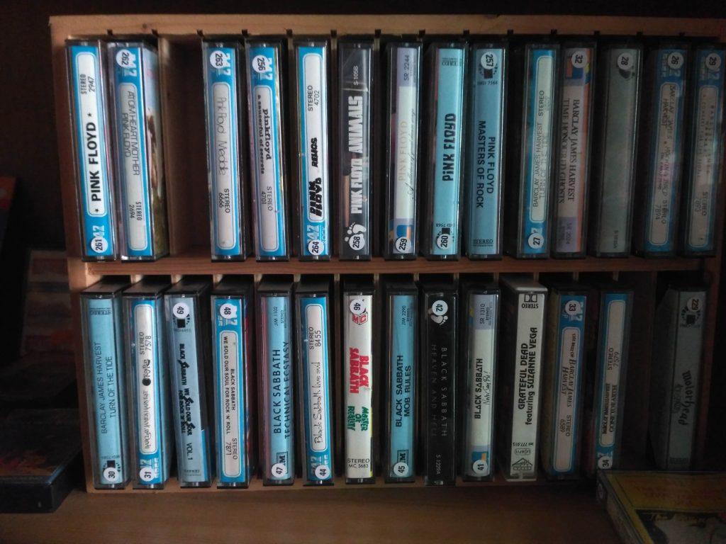 MCs Tapes, Musikkassetten Best Music Schallplattenladen Twistetal / Nordhessen