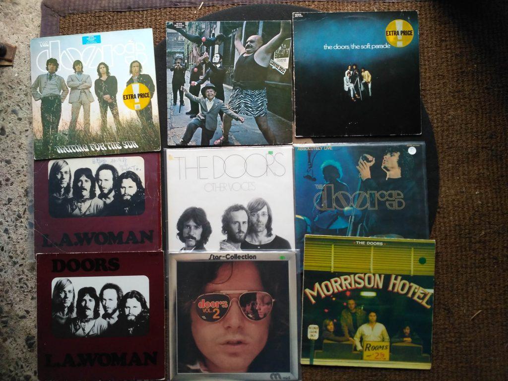 The Doors / Jim Morrison bei Best Music Schallplattenladen Twiste - Nähe Korbach Warburg Hofgeismar Fritzlar Winterberg
