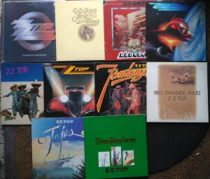 ZZ Top Live Bad Hersfeld 13 Juni 2019; Vinyl LPs in Twistetal Schallplattenladen BEST Music Nähe Korbach
