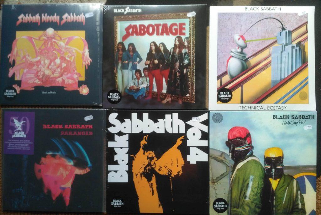 Black Sabbath LP / Vinyl bei Best Music Schallplattenladen Twistetal-Twiste / Nordhessen, Nähe Korbach